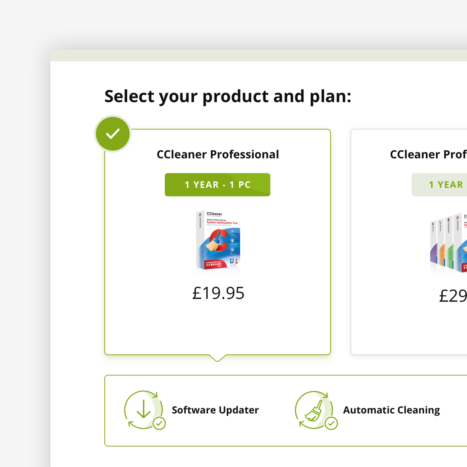 CCleaner Checkout